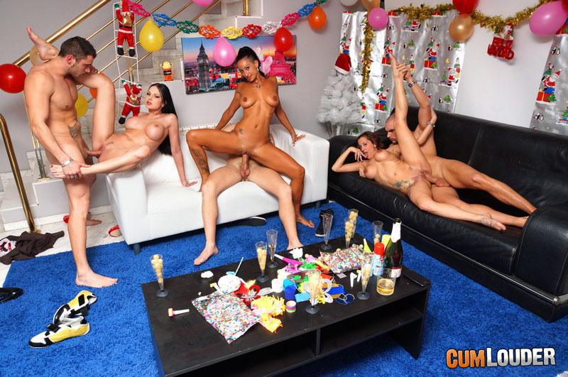 Foto Porno Año Nuevo 2013 Orgia Folladas